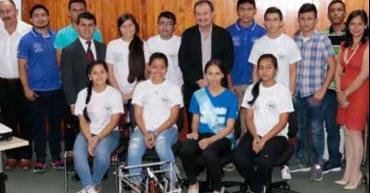 Estudiantes Hondureños se destacan en las olimpiadas de robótica en México